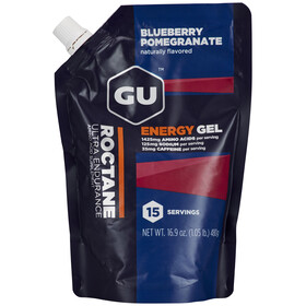 GU Energy Roctane Energy Gel Vorratsbeutel Blueberry Pomegranate 15 x 32g